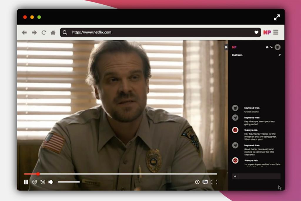 Netflix создал расширение для просмотра фильма с друзьями на расстоянии